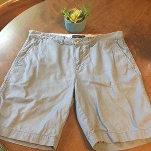 "Men's Grayish-Blue Tommy Shorts - 34"" Waist"